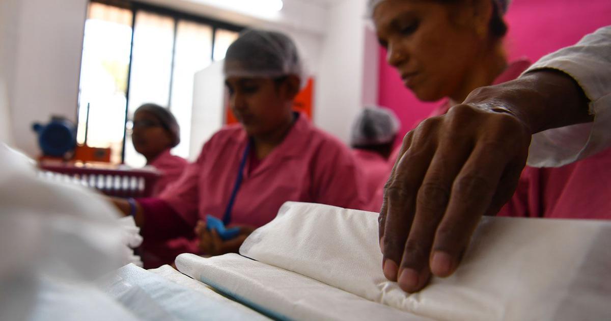 Brunt menstruationsblod TEST: Er